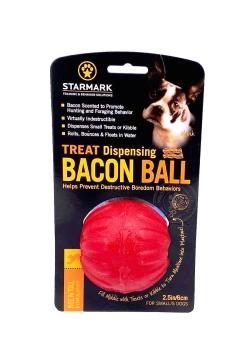 Starmark Treat Dispending Bacon Ball Small 6cm